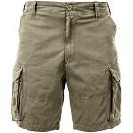 Rothco Vintage Solid Paratrooper Cargo Short - Khaki