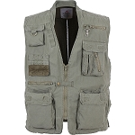 Rothco Deluxe Safari Outback Vest - Olive Drab
