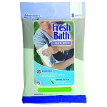 Adventure Medical Fresh Bath Wipes Travel Size