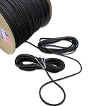 1000' Black Atwood 550 Paracord - Spool
