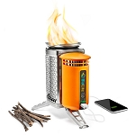 BioLite CampStove - USB Charger - Turn fire into electricity