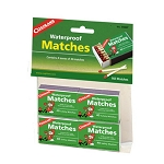 Coghlans Waterproof Matches, 4 packs of 40