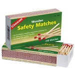 Coghlans Wooden Safety Matches - 2 boxes of 250