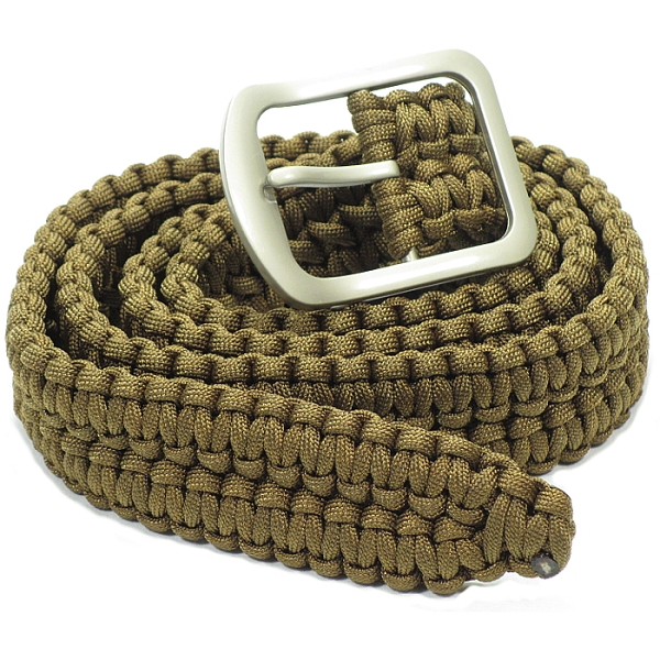 Anyone bought a paracord belt forums for How to make a belt out of paracord