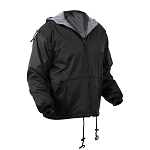 Rothco Reversible Lined Jacket With Hood - Black