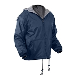 Rothco Reversible Lined Jacket With Hood - Blue