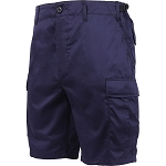 Rothco Solid BDU Shorts - Navy Blue