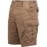 Rothco Solid BDU Shorts - Coyote Brown