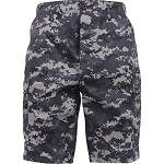 Rothco Camo BDU Shorts - Subdued Urban Digital Camo