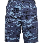 Rothco Camo BDU Shorts - Sky Blue Digital Camo