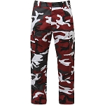 Rothco Color Camo BDU Pant - Red Camo