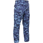 Rothco Digital Camo BDU Pants - Sky Blue Digital