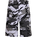 Rothco Long Length Camo BDU Short - City Camo