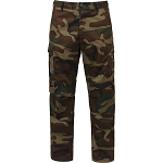Rothco Relaxed Fit Zipper Fly BDU Pants - Woodland Camo