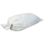 5-Pack Polypropylene Sandbags - White
