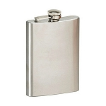 Stansport Hip Flask - Stainless Steel