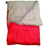 Chinook Collage Sleeping Bag - Red