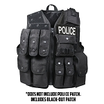 Rothco Tactical Raid Vest - Black