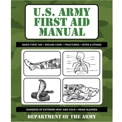 Book: U.S. Army First Aid Manual