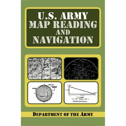 Book: U.S. Army Map Reading and Navigation Book