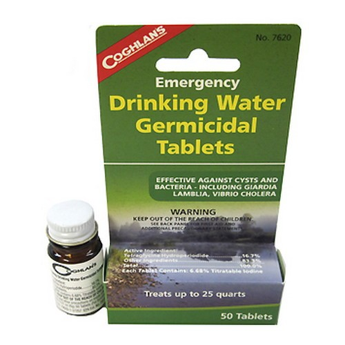 Coghlans Drinking Water Germicidal Tablets