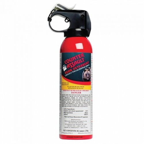 Counter Assault 8.1 oz Bear Defense Spray