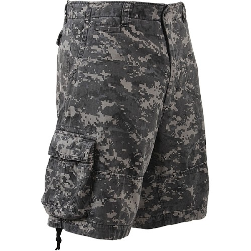 Rothco Vintage Camo Infantry Utility Shorts - Subdued Urban Camo
